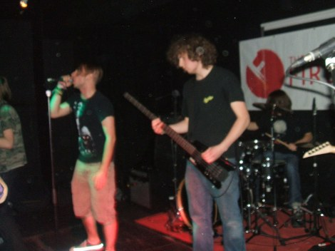 Kill Chambers performing in Windsor